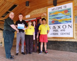leisure centre staff praised news ambulance life